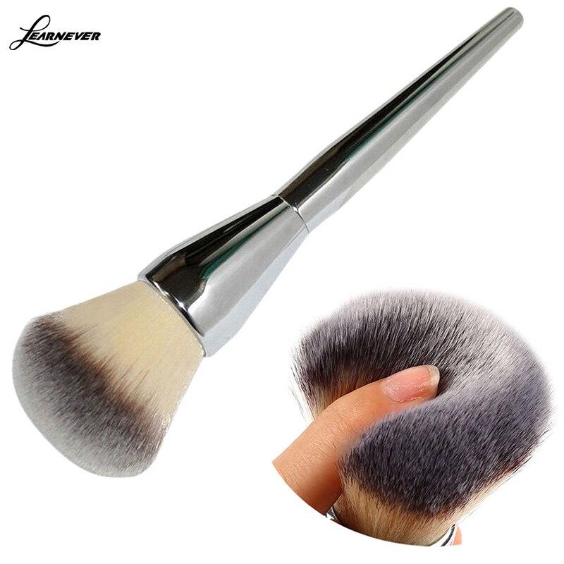 Beautiful Nainen Store Very Big Size Makeup Brushes Soft Powder Brush Blush Foundation Round Make Up Large Cosmetics Soft Aluminum Face Makeup Brushes