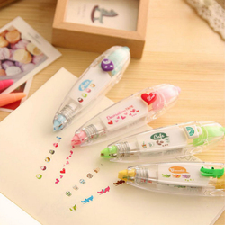 1 Pc Korea Kawaii Animals Press Type Decorative Correction Tape Correction Fluid Diary Stationery Office School Supply