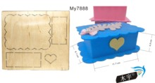 Handmade box wood moulds die cut accessories wooden die Regola Acciaio Die Misura (MY) футболка acciaio