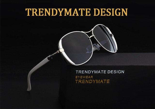 Gafas de sol de alta calidad para mujer, anteojos de sol femeninos de estilo Vintage con caja, de diseñador de marca, M071, en oferta, 2021 6