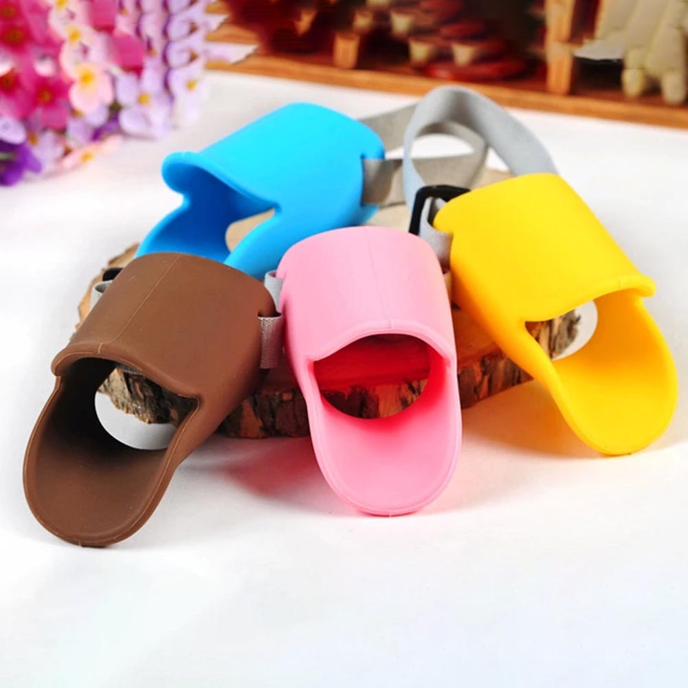 Pet Funny Duckbill Sets of Anti-bite Masks Anti-picking Anti-called Silicon Pet Duckbill Mouth Dogs Covers Pet Supplies