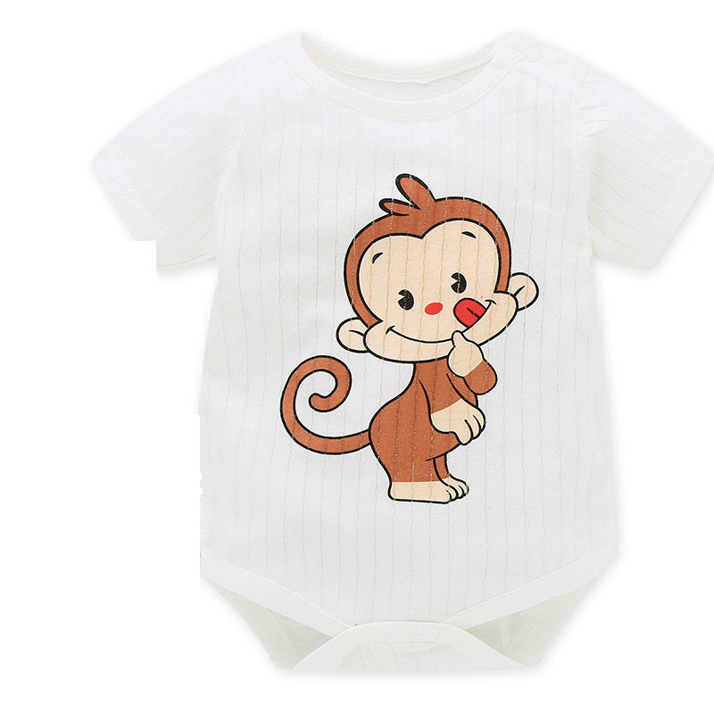 HTB181.edHZnBKNjSZFhq6A.oXXa7 New Summer Baby Boys Romper Animal style Short Sleeve infant rompers Jumpsuit cotton Baby Rompers Newborn Clothes Kids clothing