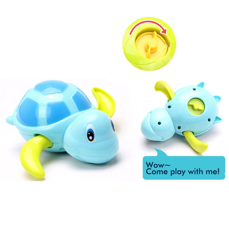 1Pcs New Cute Animal Turtle Dolphin Baby Shower Toy Swimming Pool ...