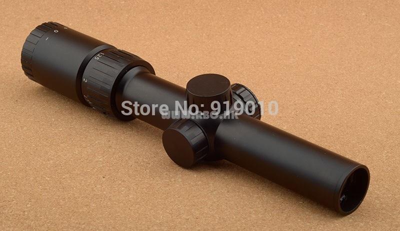 ФОТО Rambo 1.25-5x24 side light Rifle scope for 1.25 inch tube fir hunting shooting RBO M2048