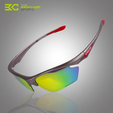 2017 New Basecamp Polarized Cycling Glasses Bike Goggles Outdoor Sports Bicycle Sunglasses Uv Protect 5 Lens Accessories H5023