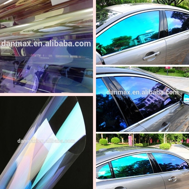 car window tint colors  Removable Self Adhesive Window Tint Film 1.52*30m/size Blue ...