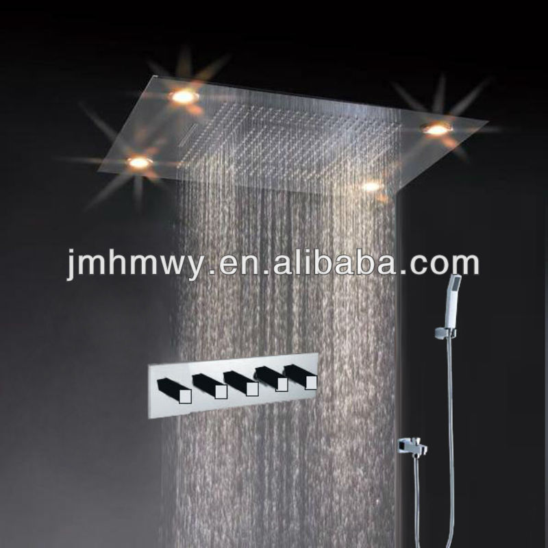5 Star International Hotel Use Embeded Ceiling Rain Shower ...