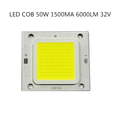 20PCS/lot COB 4640 Real 50W 1500MA 6000LM 32V LAMP LED Light Beads Warm Cold White High Power Good Quality For Street Lights