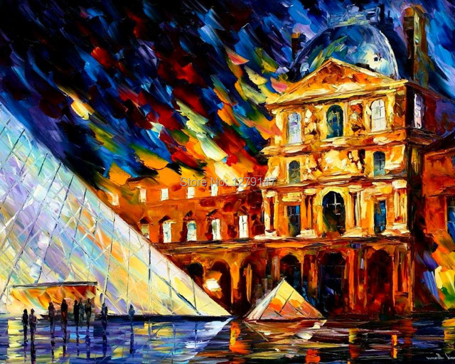 J4 Best Painting Wallpaper By Leonid Afremov Oil HD Print On Canvas 24x36