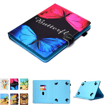 PU Leather 8 inch Universal Case For Sony Xperia Z3 Compact 8.0 inch Tablet SGP621 SGP641 SGP611 Protective Cover+pen gift image