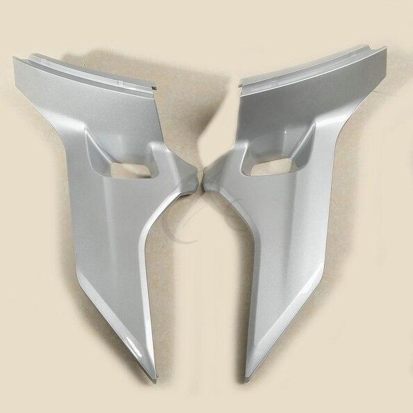ᗑ】Nuevo gris cubierta lateral carenado protectores para honda ...