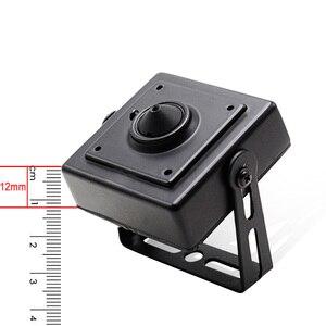 Image 3 - Wheezan מיני HD מצלמה אבטחת 2MP Onvif H.265 סגור POE 12V 1080P אודיו P2P ראיית לילה בית מצלמות מעקב