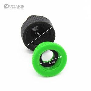 Image 4 - MUCIAKIE adaptador de tubo para manguera de riego, 2 uds., hilo femenino de 1/2 y 3/4, conector rápido, para jardín, Syst