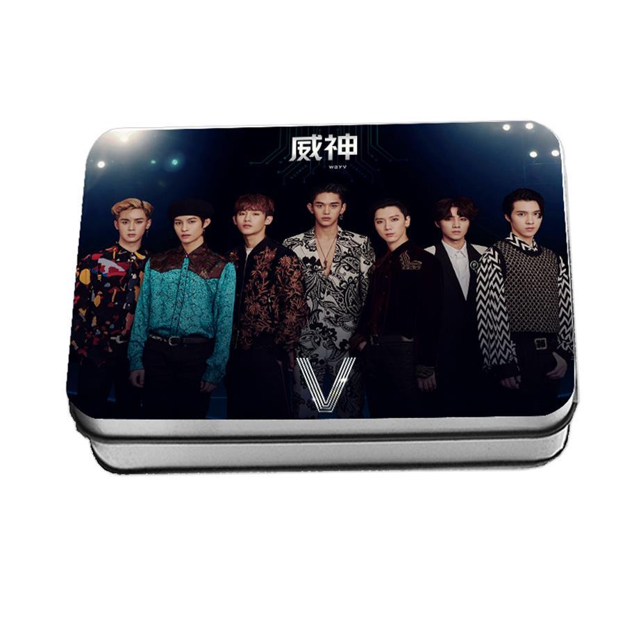Kpop NCT WAYV Polaroid Lomo Photo Card Photocard Winwin Ten Hendery Debut Collective Cards 40pcs/set