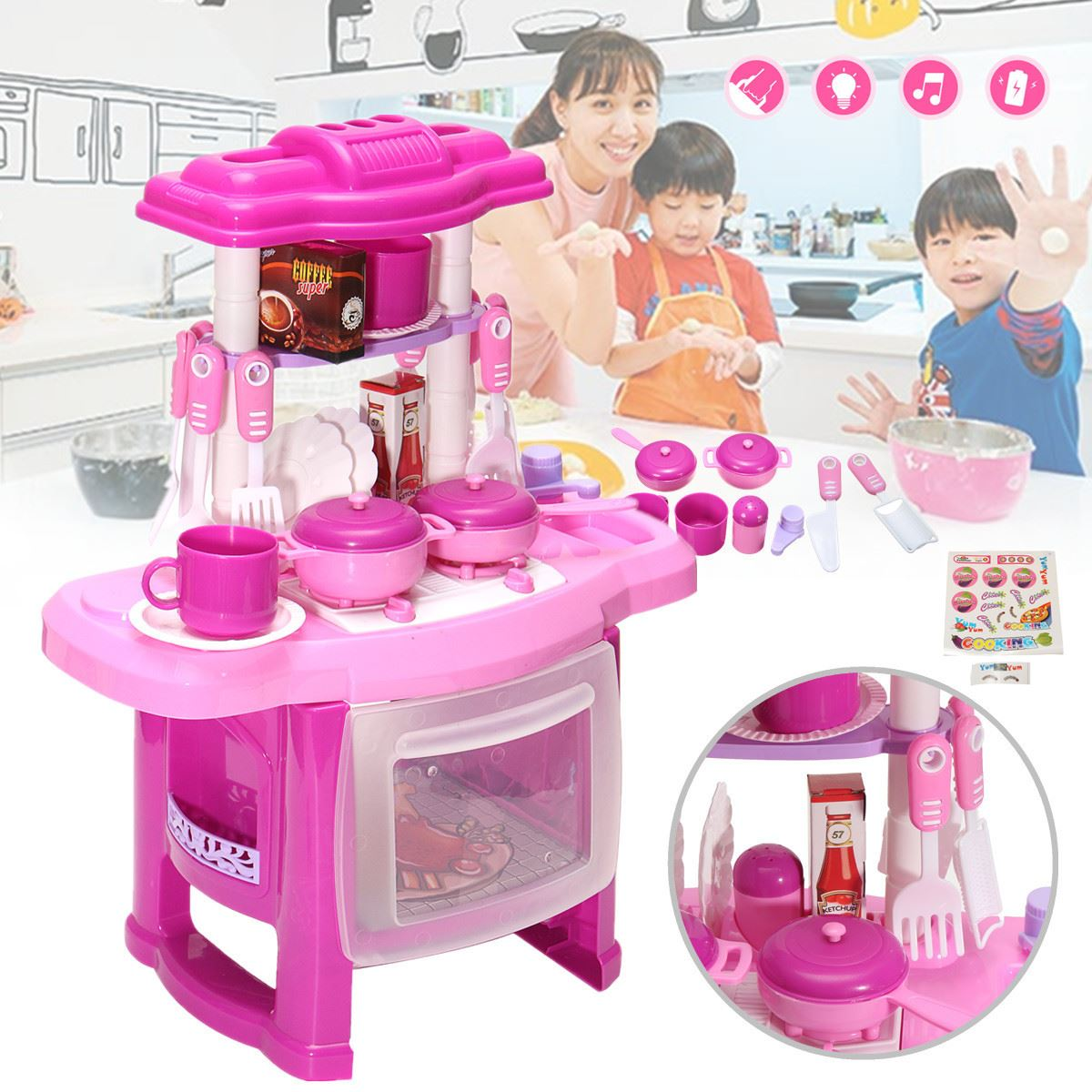 Light Pink Kitchen Popular Pink Kitchen Toys Buy Cheap Pink Kitchen Toys Lots From