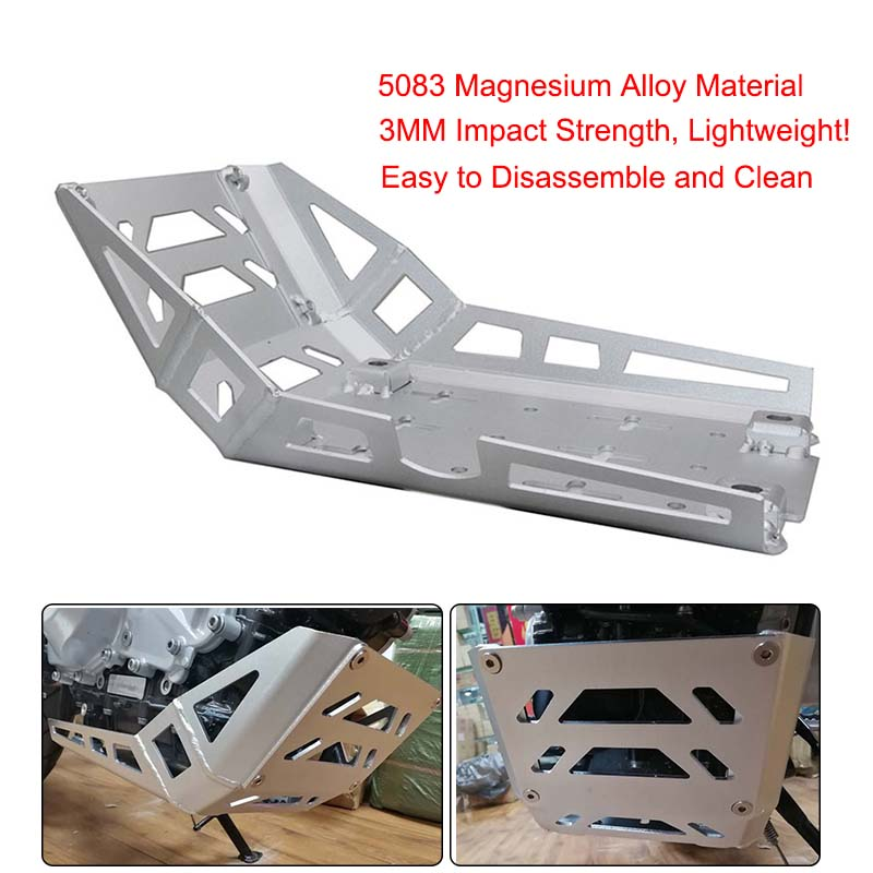 For BMW 2017-2018 G310GS <font><b>G310R</b></font> Motorcycle Chassis Expedition Skid Plate Engine Chassis Protective Cover Guard image