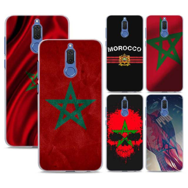 460e91a1c54a66 MA Maroc Morocco Flag Pattern transparent Phone Cover Fundas Coque for Huawei  Mate 10 Lite 9 Mate 20 Lite P10 P20 Lite