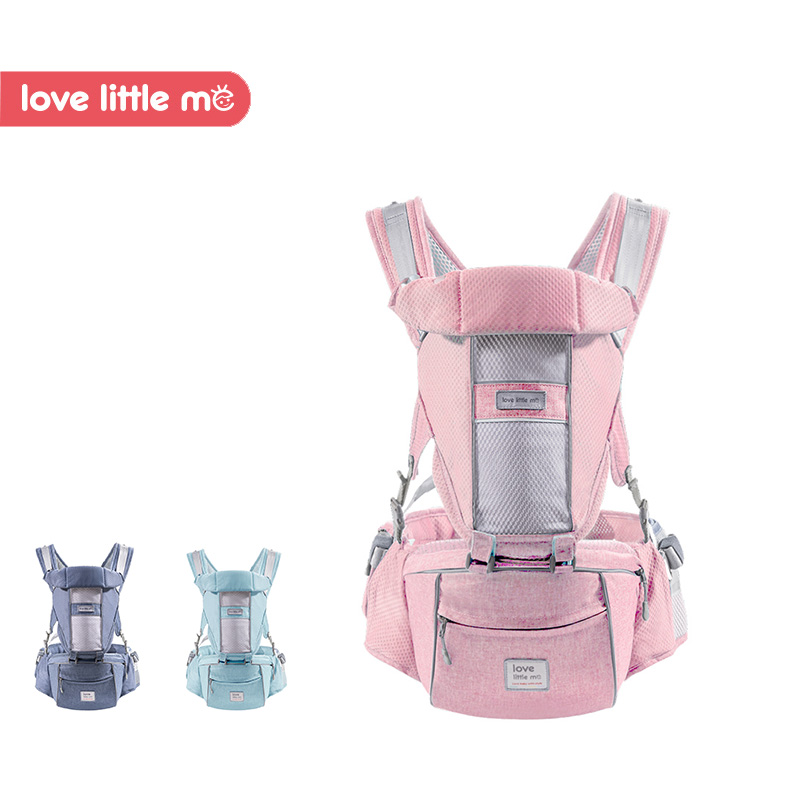 Love Little Me 2018 New Arrival Ergonomic Breathable Baby Carrier Hipseat Baby Wrap Sling Baby Kangaroo for Newborn 0-36 Months little love