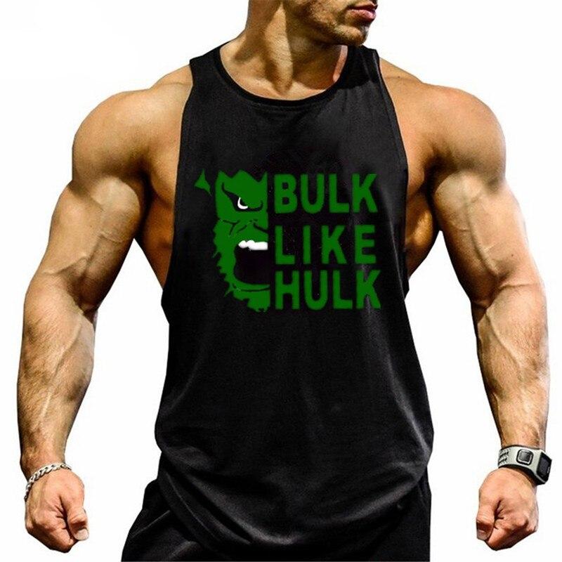 Fitness   Tank     Top   Men Bodybuilding Clothing Fitness Men Shirt Crossfit Vests Cotton Singlets Muscle   Top   gyms Undershirt