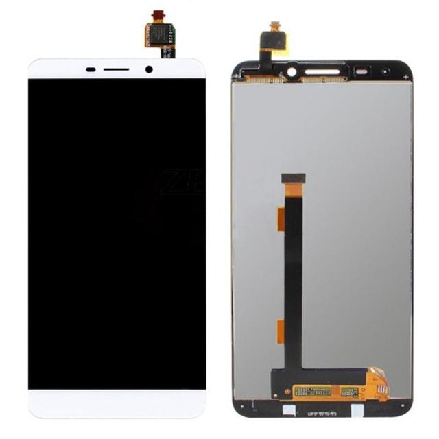 100% preto/branco/ouro para leeco letv le 1x600 display lcd touch screen substituição digitador assembléia frete grátis
