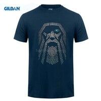 GILDAN Customised T Shirt Gorgeous T Shirts Men Boy 100 Cotton Short Sleeve Odin Vikings Group