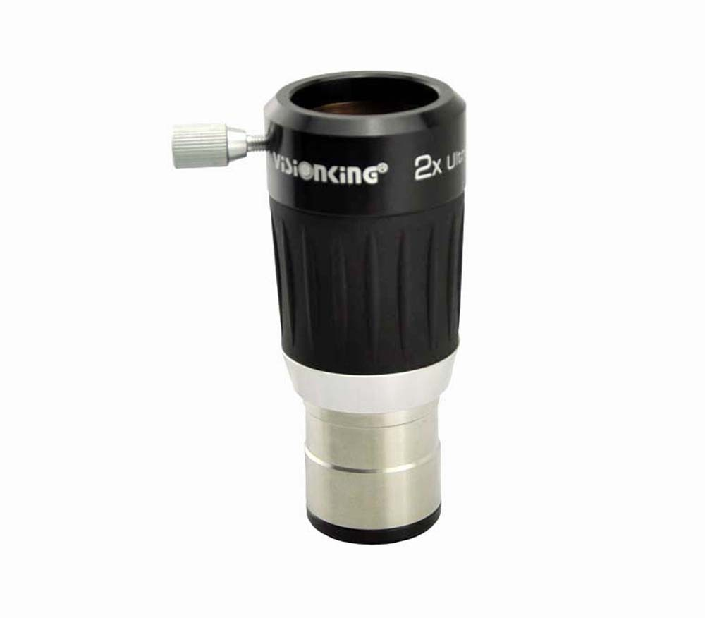 Free shipping! Visionking 2x 4-Element Barlow Lens 1.25'' Telescope Eyepiece Metal Body telescope eyepiece set aspheric 4 10 23mm 1 25 wide angle 62 deg eyepiece metal 1 25 inch 2x barlow lens
