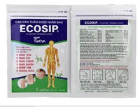 100Pcs 20bag ECOSIP Treatment Osteoarthritis Bone Hyperplasia Omarthritis Rheumatalgia Spondylosis Paste Pain Relieving Patch