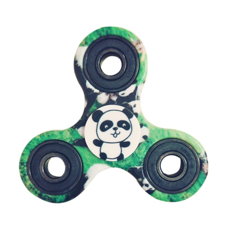Printing EDC Round Three Corner Camouflage Fidget Hand Spinner For Autism And ADHD Anxiety Stress Relief Focus Toys High Quality new style edc round three corner camouflage hand spinner for autism and adhd anxiety stress relief focus toys