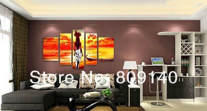Aliexpresscom Buy African Landscape oil painting canvas
