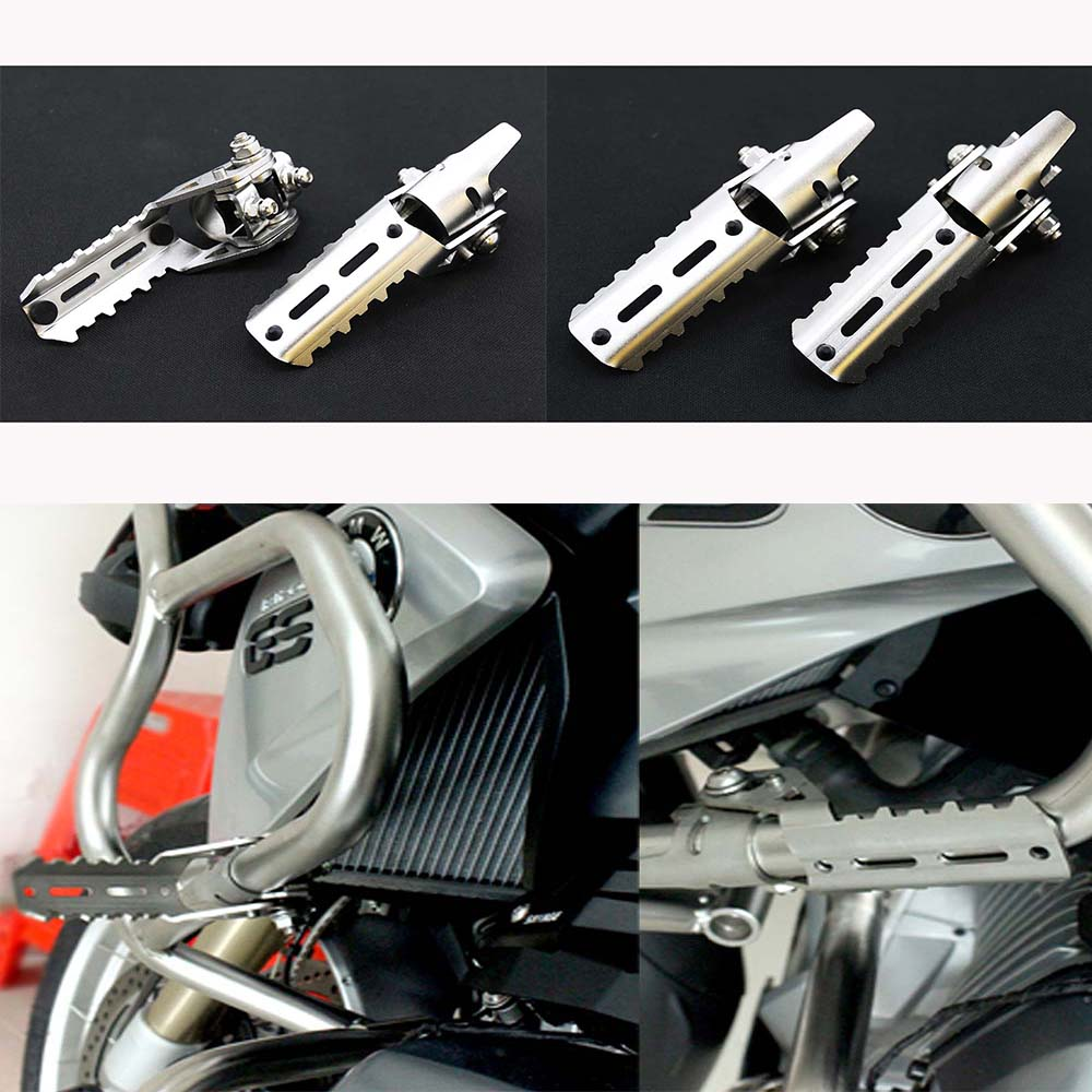 1pair For BMW R1200GS LC Highway Pegs Pegs For Pipes Triumph Tiger Explorer