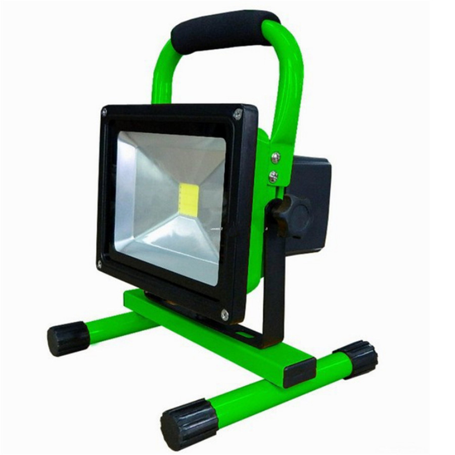 Free Shipping IP65 3 Modes LED Floodlight 30W Portable Rechargeable Cordless LED Work for Car Traveling Camping Fishing Use