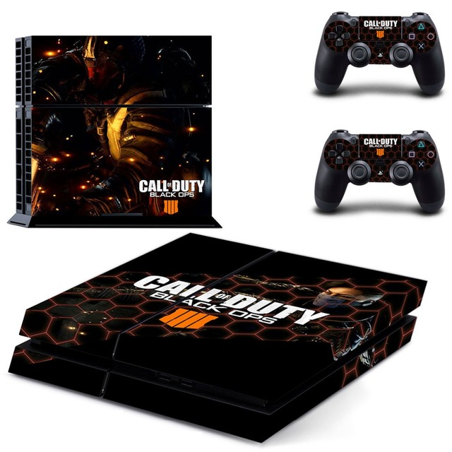 Call of Duty: Black Ops 4 PS4 Skin Sticker for Sony PS4 PlayStation 4 console and 2 controller skins 4