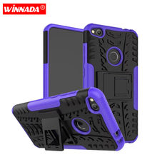 Armor Hybrid Silicone Hard Cover For Huawei P8 P9 P10 P20 Lite 2017 Nova 2i 3i Y3 Y5 ii Y6 Y7 Prime Y9 2018 Mate 10 P Smart Case(China)