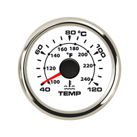 52 mm Car Water Temperature Gauge 40 120 Celsius Digital Thermometer Water Temp Gauge