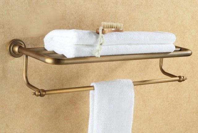 Vintage Antike Messing Wand Badezimmer Handtuchhalter Halter Cba084 ...