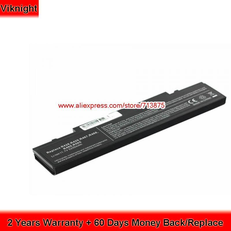 High Quality 11.1V 5200mAh AA-PB9NC6B Laptop Battery for Samsung NP-R519 NP-R428 AA-PB9NS6B AA-PL9NC6B R468 PC цена