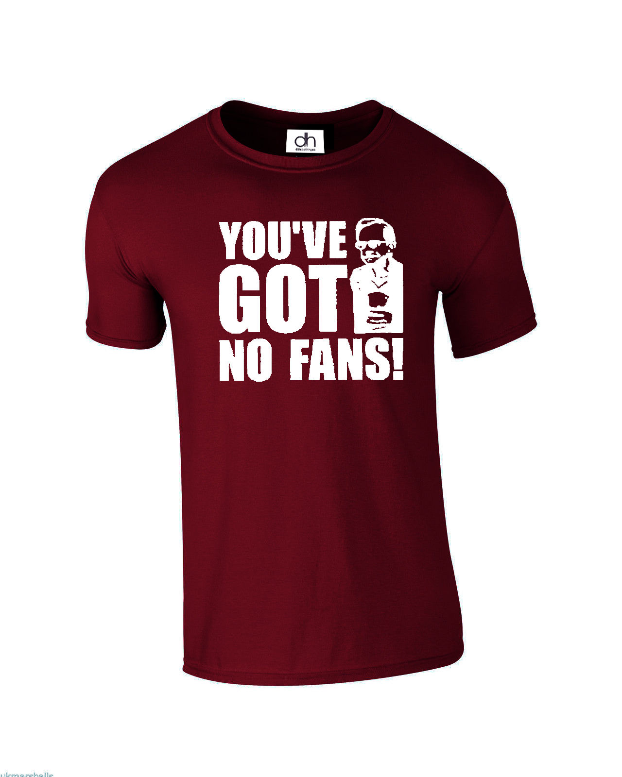 Wealdstone Raider You 39 ve Got No Fans Funny YouTube Vine Top XS 3XL FANS T SHIRT New T Shirts Funny Tops in T Shirts from Men 39 s Clothing