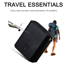 Lantro JS Mobile Phone Charger Mini Power Bank 5000mah Two in One  2 USB Port Perfect Travel External Batter Pack
