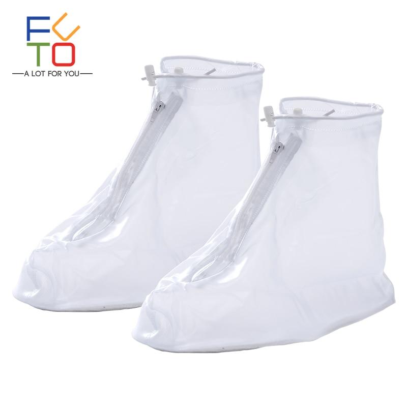Outdoor Reusable Rain Snow Shoe Covers Waterproof Overshoes Boot Gear Durable
