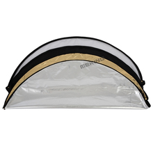 Photo Reflectors 110cm 42″ 5in1 Light Multi Collapsible Portable Reflector with carrying bag
