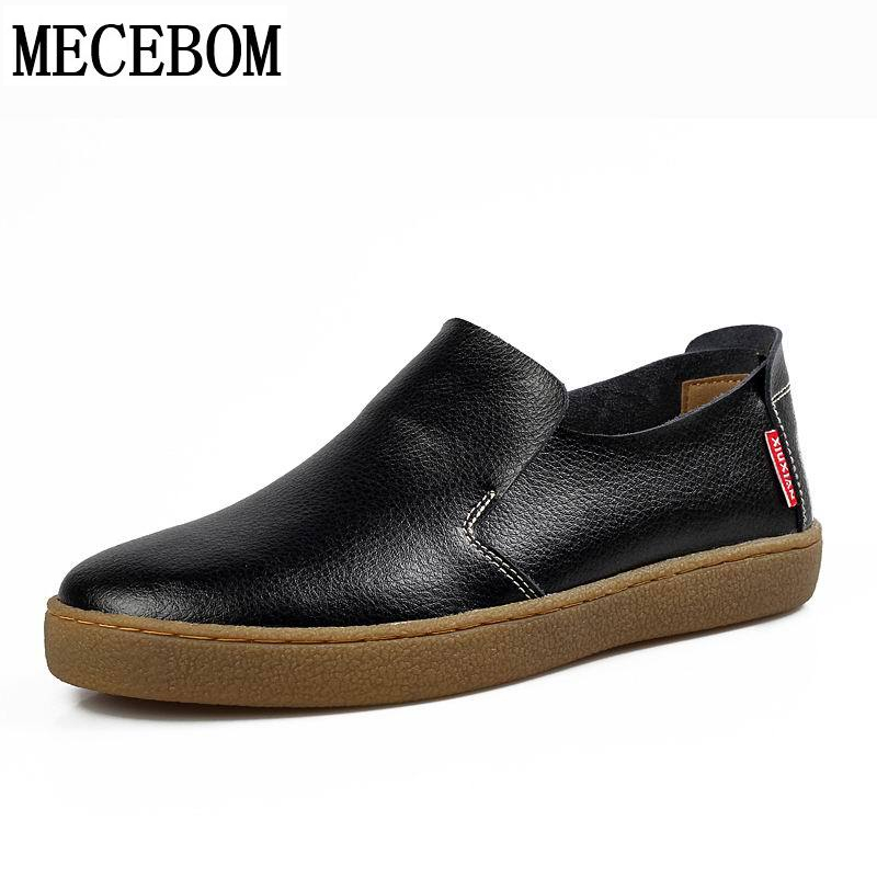 Men boat shoes fashion black split leather shoes quality comfortable breathable slip-on men casual shoes size 39-44  912m branded men s penny loafes casual men s full grain leather emboss crocodile boat shoes slip on breathable moccasin driving shoes