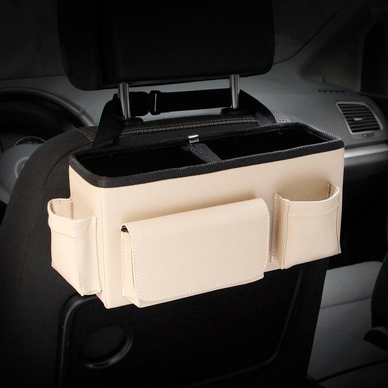 Auto achterbank Opvouwbare draagbare opbergbox Multi-Use Auto - Auto-interieur accessoires - Foto 3