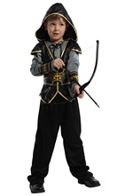 Children's Halloween Stage Role Performance Costume Indian Prince Clothing Hunter Costume Purim Party dress