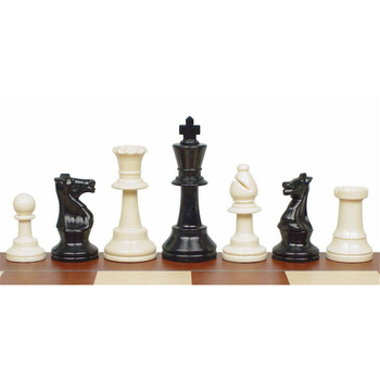BSTFAMLY juego de ajedrez piezas de ajedrez de plástico altura rey 95mm Juego de ajedrez estándar internacional competiciones LA109