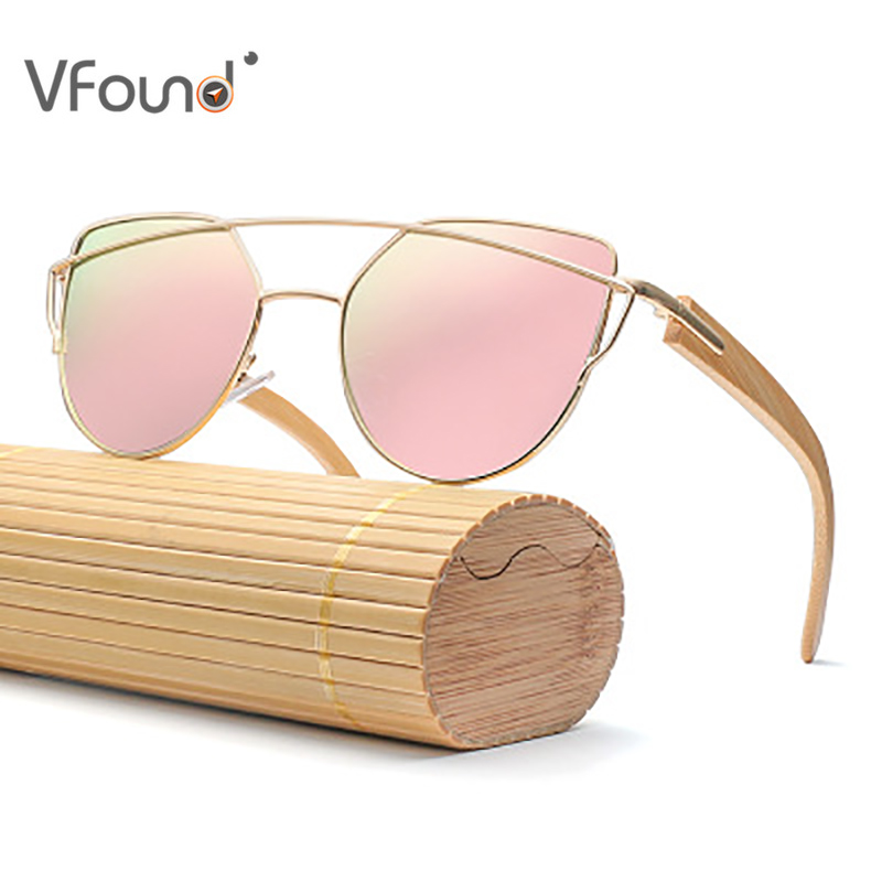 Lunettes en bois pour l'été