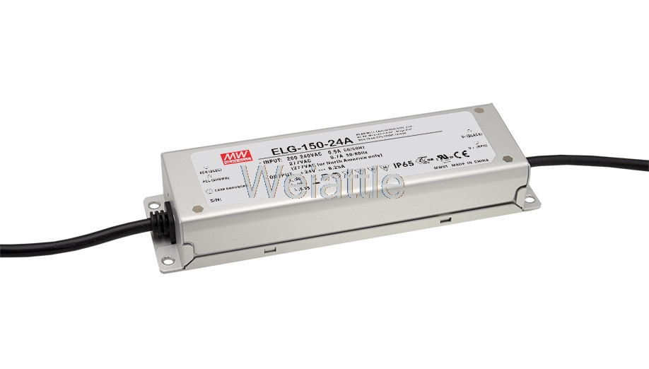 MEAN WELL original ELG-150-24A 24V 6.25A meanwell ELG-150 24V 150W Single Output LED Driver Power Supply A type [powernex] mean well original elg 150 12a 12v 10a meanwell elg 150 12v 120w single output led driver power supply a type
