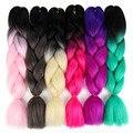 Канекалон jumbo косу волос 24 дюйма ombre каникалон плетение волос канекалоны для волос 100 г/упак каниколон парики женские для волос
