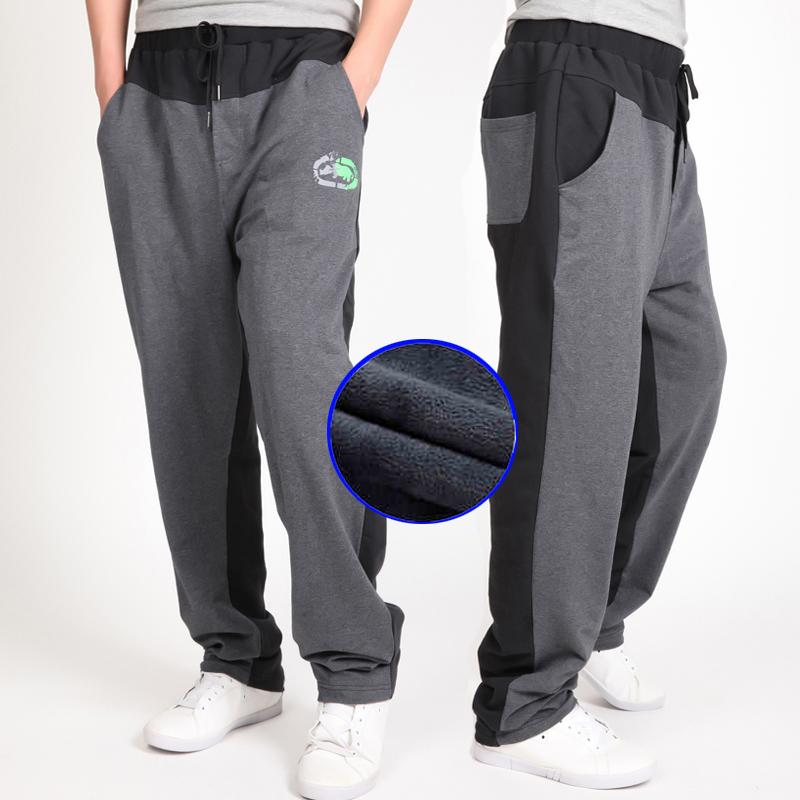 Warm winter pants men Joggers pants Hip Hop pants men clothes 18 Streetwear men's trousers large size XXXL 4XL 5XL 6XL 7XL 8XL 4