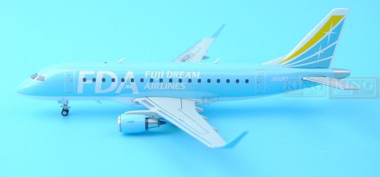 XX2561 JC Fuji Wings Dream Aviation JA02FJ Blue 1:200 ERJ-170 Commercial Jetliners Plane Model Hobby