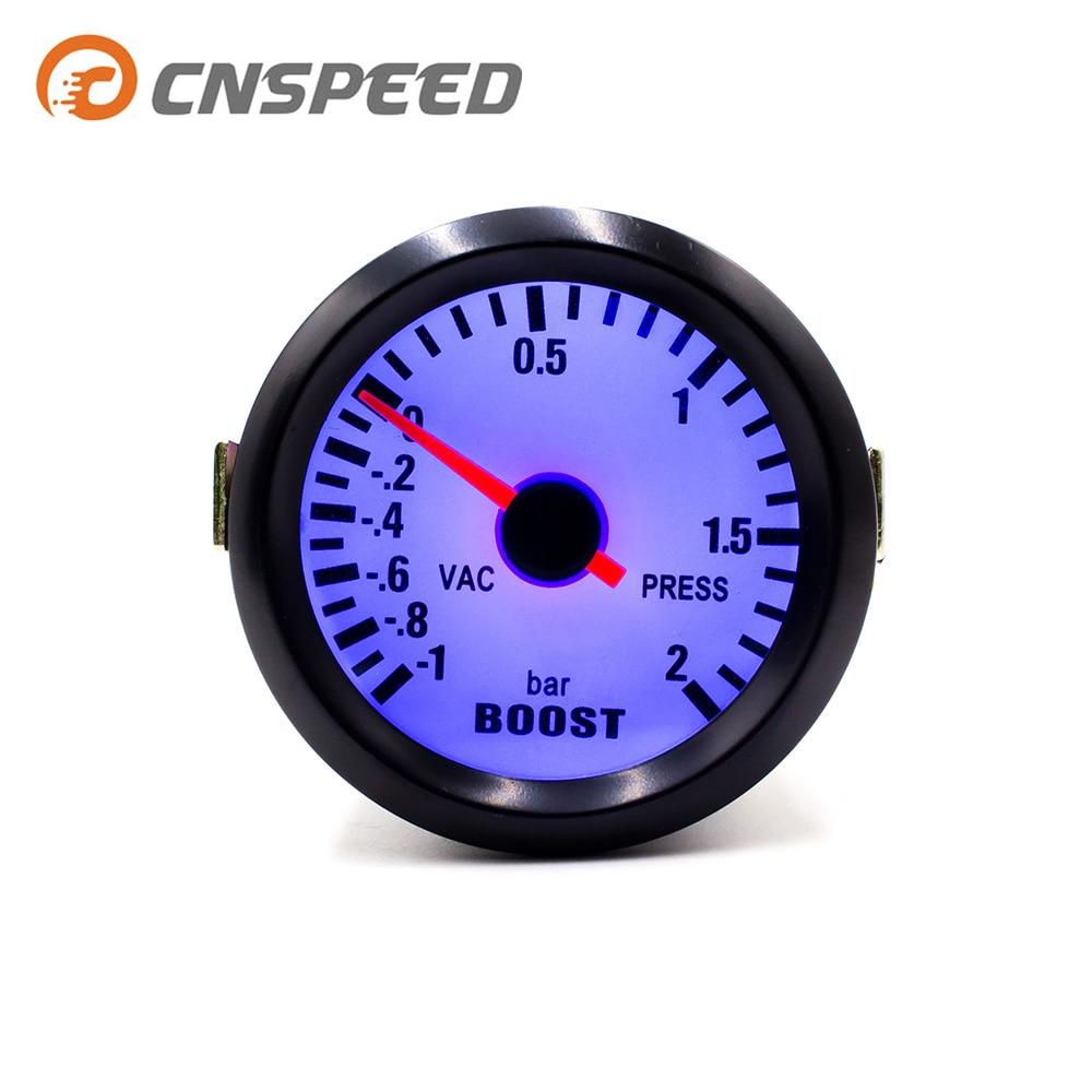 hight resolution of bar gauge 1 2 bar black 2 inch 52mm boost gauge kit for car